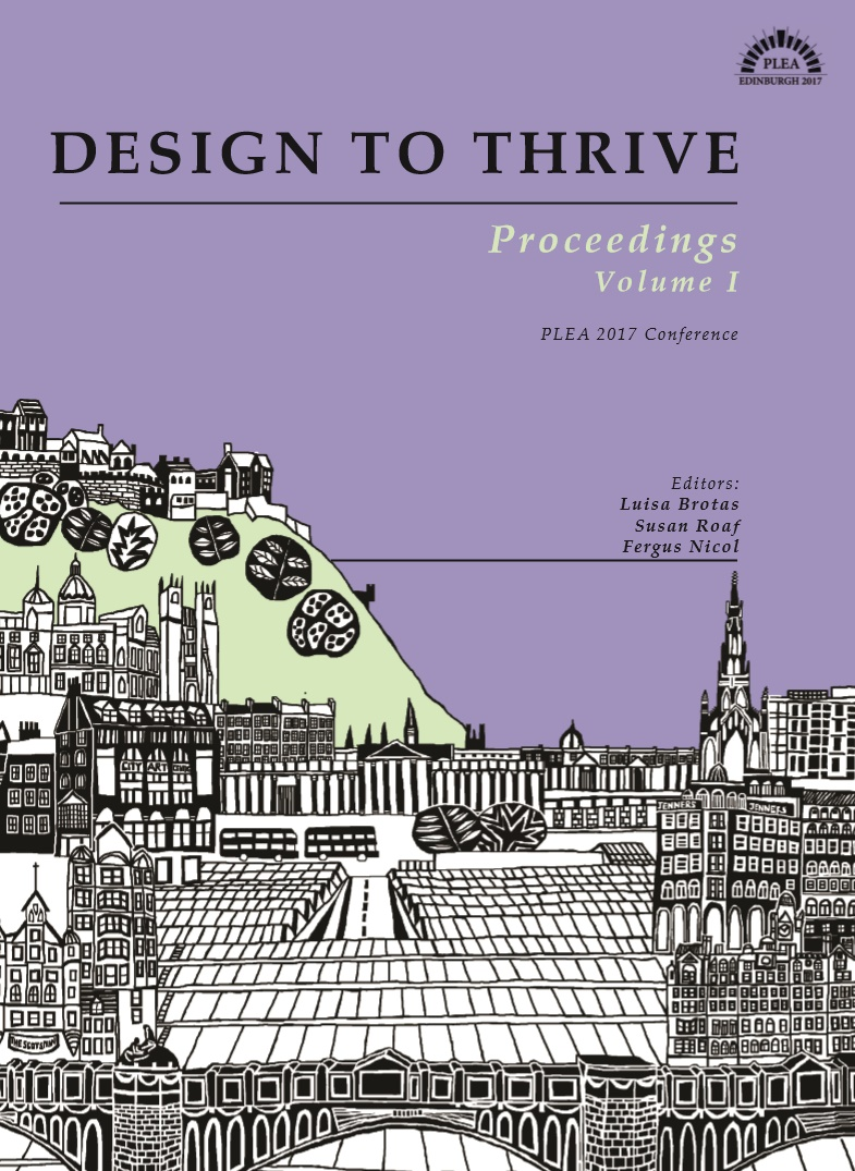 Design To Thrive Proceedings Volume I PLEA 2017 Conference